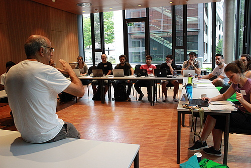 Prof Henrique Pereira led this year's summer school (photo: Stefan Bernhardt/iDiv).