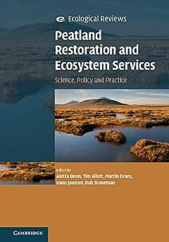 Book Cover of Peatland Restoration and Ecosystem Services