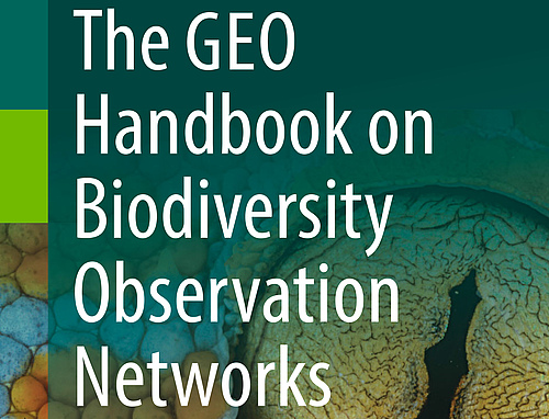 Cover des GEO Handbook on Biodiversity Monitoring Networks (Quelle: GEO BON).
