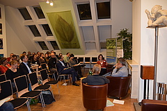 """Discussion Forum Ecosystem Services"" at the Deutsche Umwelthilfe (photo: Suleika Suntken, DUH)"