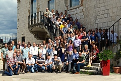 Members of the IPBES expert group for the Regional Assessment on Europe and Central Asia during their meeting in Zadar, Croatia (photo: Ulf Molau).