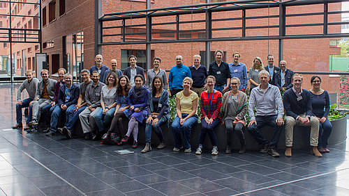 The workshop's multi-disciplinary team (photo: Stefan Bernhardt).